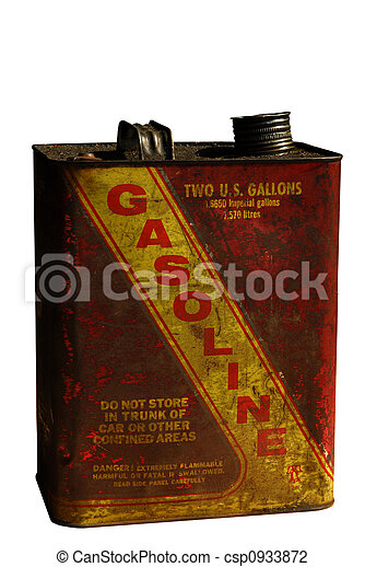 Vintage Gasoline can - csp0933872