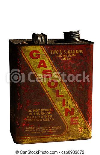 Vintage Gasoline can - csp0933872