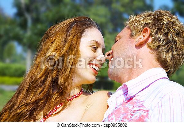 summer flirting - csp0935802