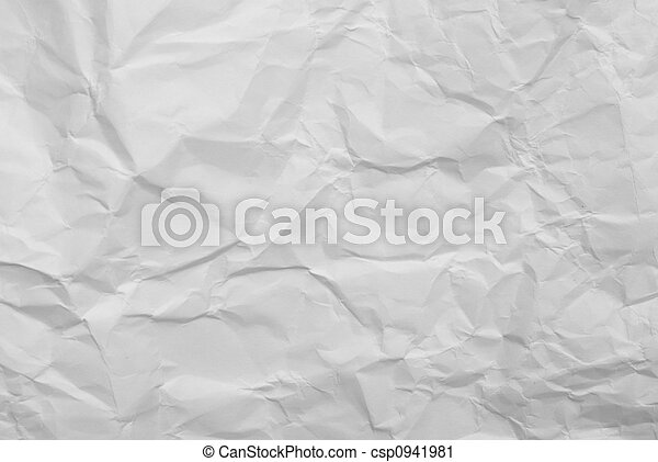 wrinkled paper background - csp0941981