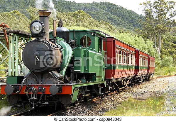 Early Steam Train - csp0943043