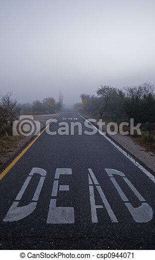 Dead End Road - csp0944071