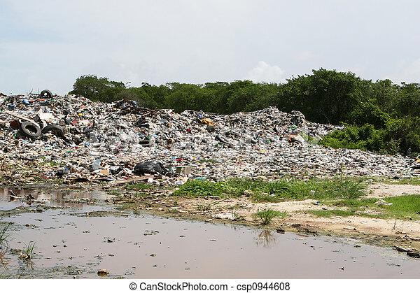 Dumping Waste - csp0944608