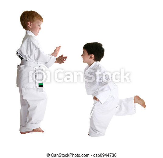 Sparring Partners in Karate