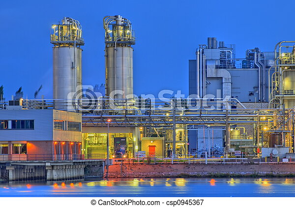 Chemical plant - csp0945367
