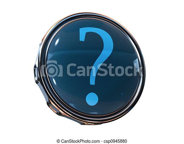 3d icon help - csp0945880
