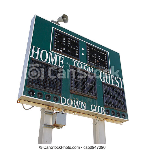 High School Score Board - csp0947090