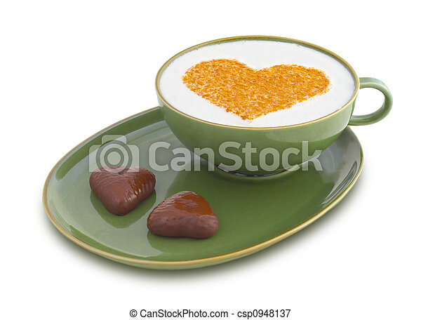 Valentine\'s day coffee 1 - csp0948137