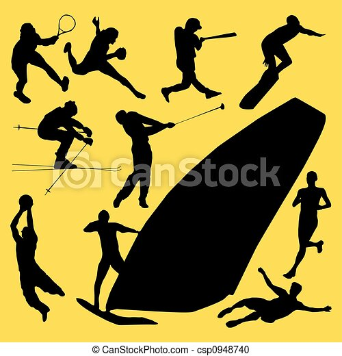 outdoor sports - csp0948740