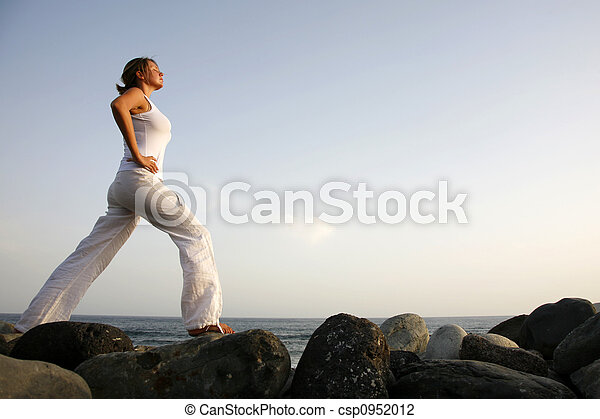 Dawn Yoga - csp0952012