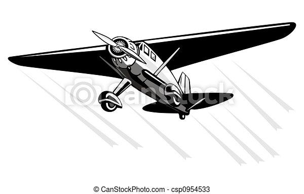 tekeningen propeller schaaf vlucht illustratie