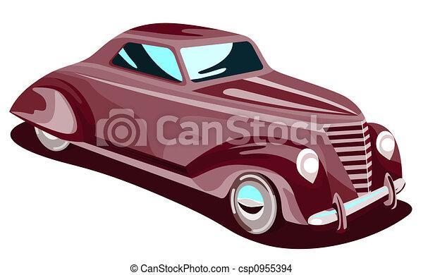 1930s automobile  - csp0955394