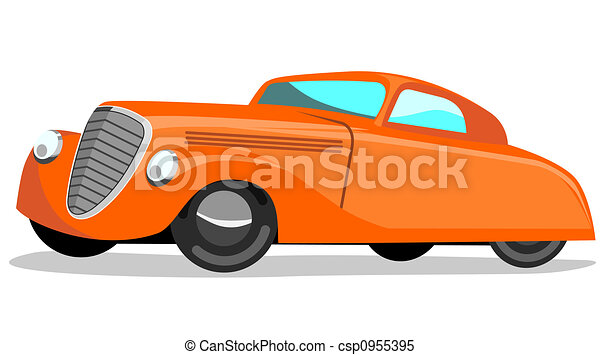 Retro styled automobile - csp0955395