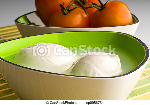 mozzarella cheese - csp0956764