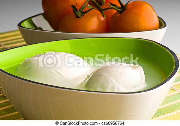 mozzarella cheese - csp0956764