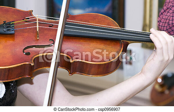 Fiddle Player - csp0956907