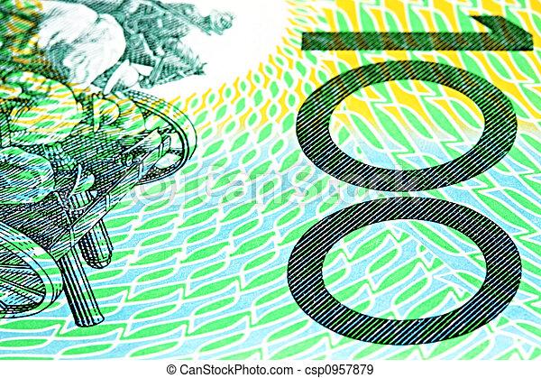 Australian One Hundred Dollar Note - csp0957879