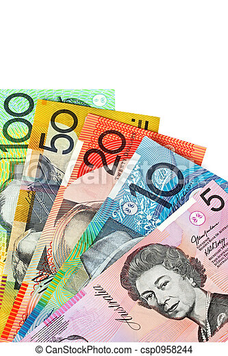 Australian Currency - csp0958244