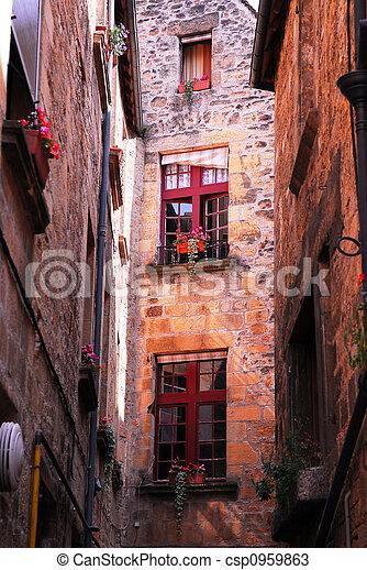 Medieval architecture - csp0959863