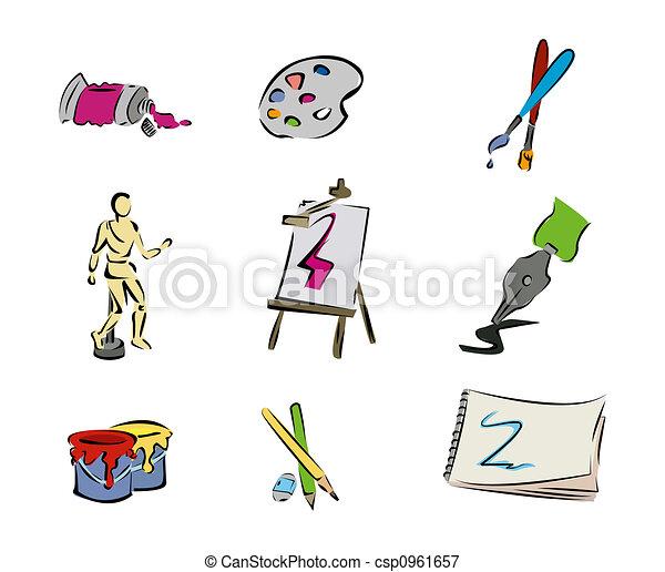 Art Icons - csp0961657