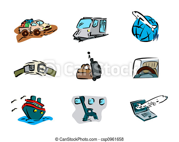 Transportation Icons - csp0961658