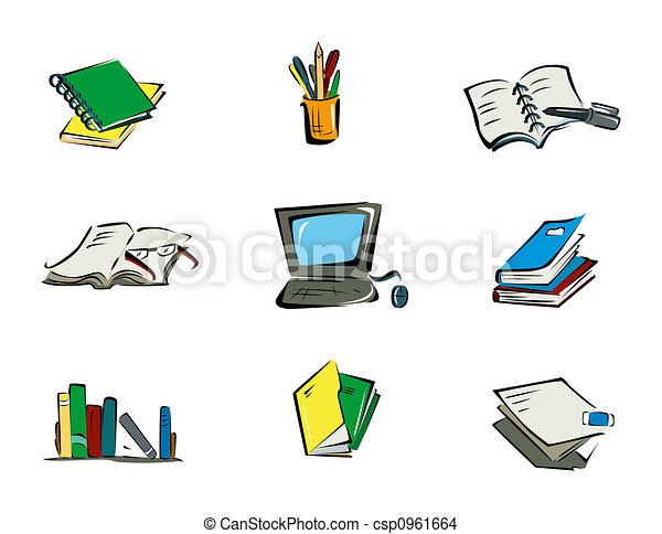 Education Icons - csp0961664