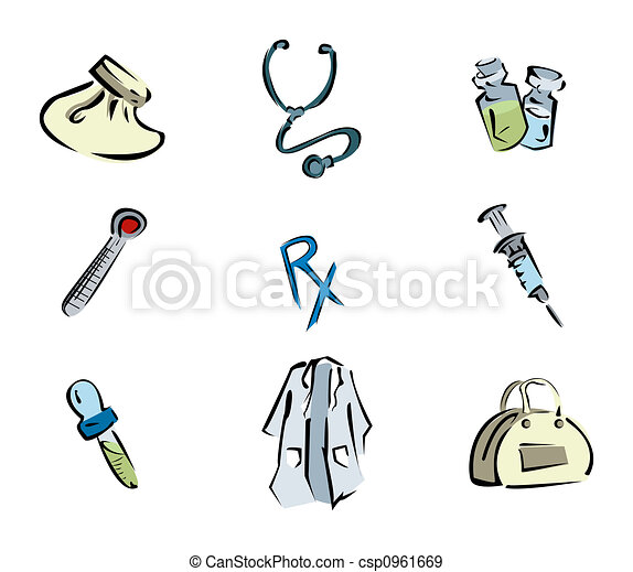 Healthcare Icons - csp0961669