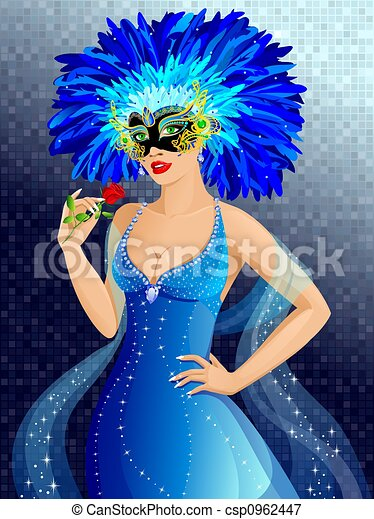 Carnival girl - csp0962447