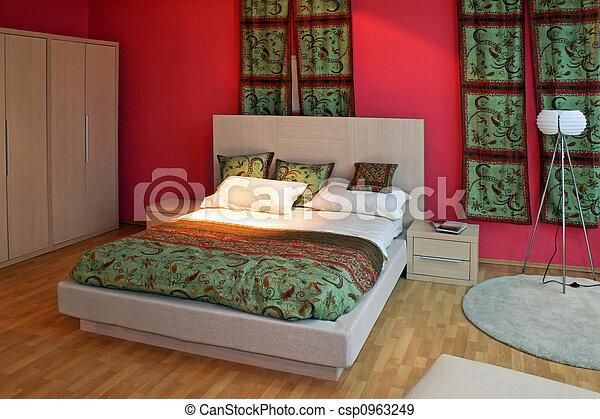 Banque de photographies de oriental chambre coucher for Chambre a coucher oriental