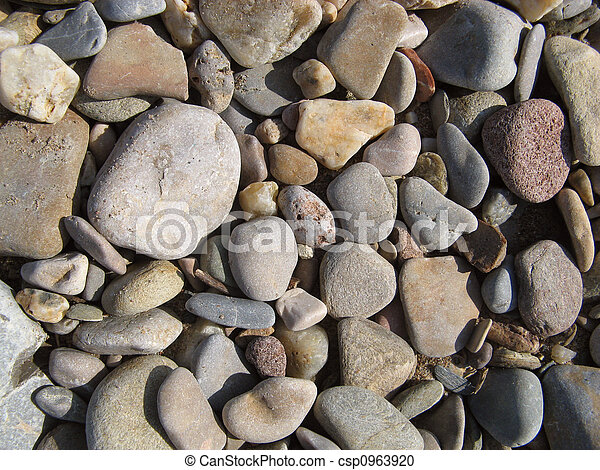 loose stones and gravel - csp0963920