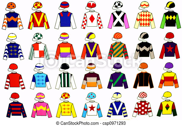 Jockey Uniforms - csp0971293