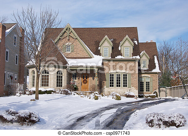 Majestic Newly Constructed Home  - csp0971743