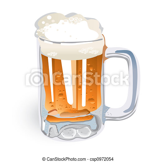 Beer Mug (illustration) - csp0972054