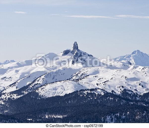 Black Tusk Mountain - csp0972199