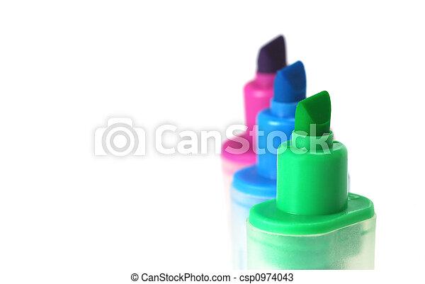 highlighter pens - csp0974043
