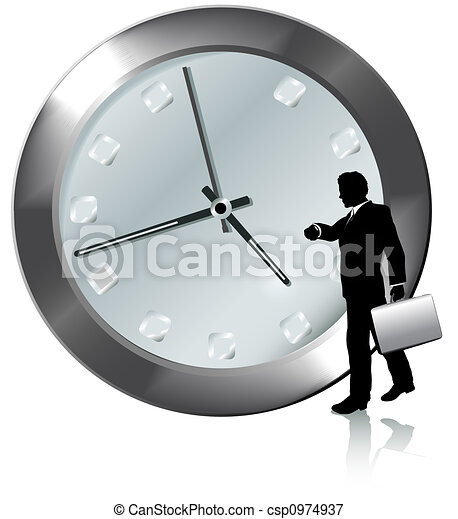 Appointment On Time Business Person Watches Watch - csp0974937