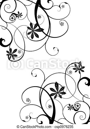 gothic vine - csp0976235