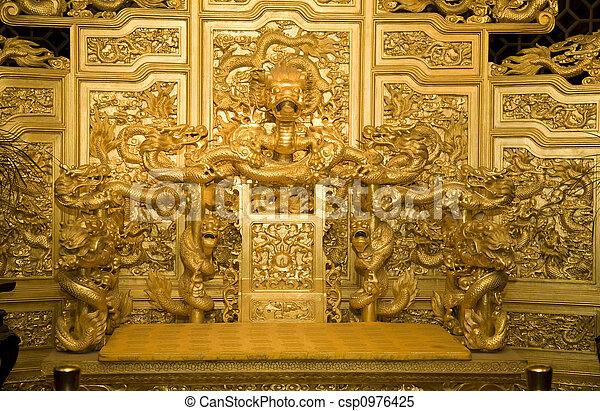 Emperor\\\'s Throne  China - csp0976425