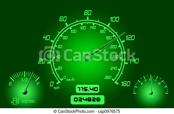 Car Gauges  - csp0976575