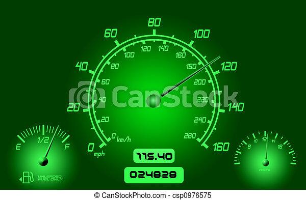 Car Gauges  - csp0976575