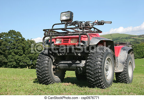 Quad Bike - csp0976771