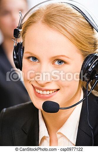 Confident consultant - csp0977122