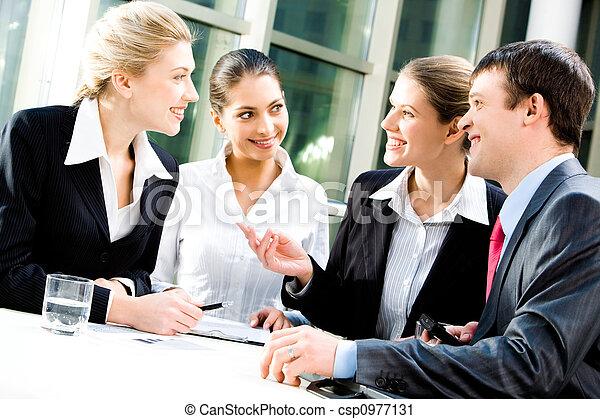 コミュニケーション, ビジネス - csp0977131