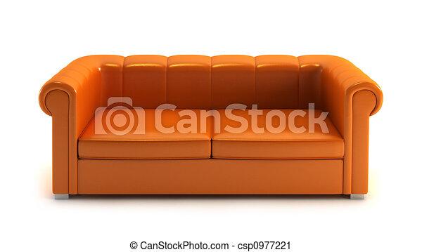modern couch - csp0977221