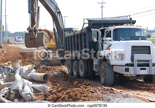 Road construction - csp0978139