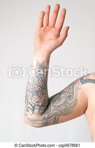 tatoo arm