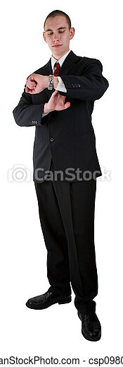 Young Adult Business Man  - csp0980426
