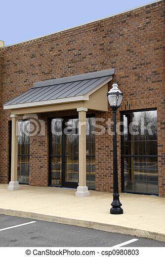 Office Building Facade - csp0980803