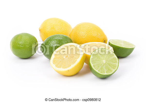 Lemons and lime - csp0980812