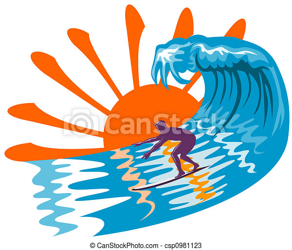 Clip Art Surfing Clip Art surfing illustrations and clipart 27172 royalty free the big waves illustration on surfing